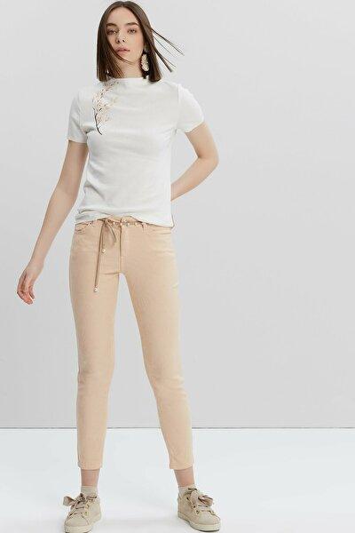 Kadın Somon Beş Cep Pantolon 9KKPN3122X