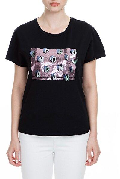 Siyah Kadın T-Shirt 6G2T7X 2J7SZ 0999