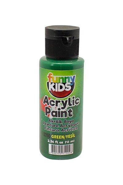 Funny Kids Akrilik Boya 70ml - 2710 Yeşil