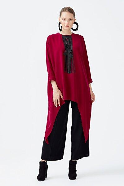 Kadın Kırmızı Tunik 101-007-181-04750-40