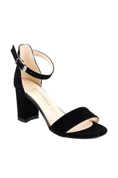 Siyah Kadın Topuklu Ayakkabı 18A02158