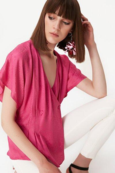 Kadın Fuşya Bluz TS1190006418004