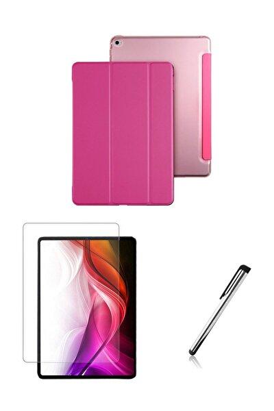 iPad Mini 1-2-3 Smart Case Tablet Kılıfı Seti A1432,A1454,A1455,A1489,A1490,A1491,A1599,A1600-Pembe