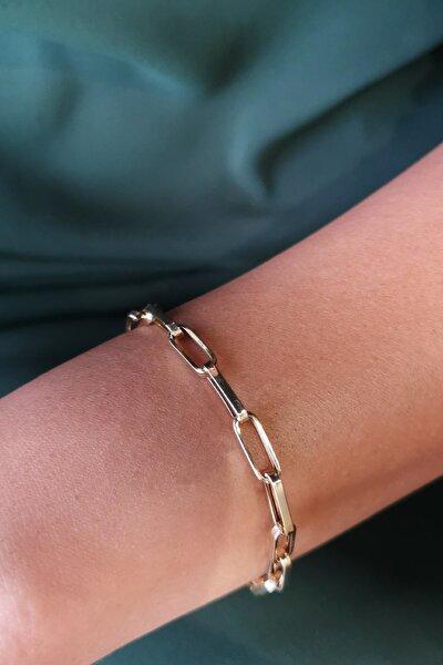 Kadın 14 Ayar Altın Bileklik BL10436
