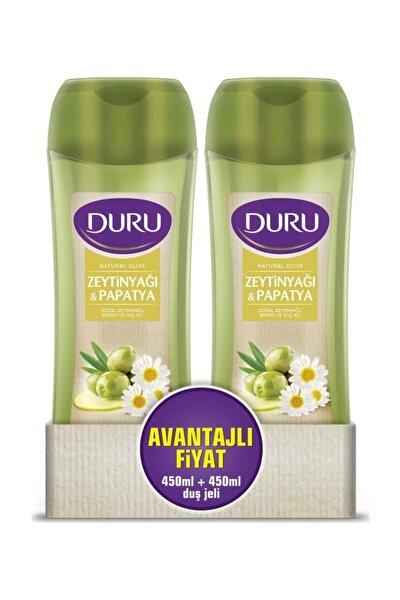 Natural Olive Papatya Duş Jeli 450 ml & 450 ml