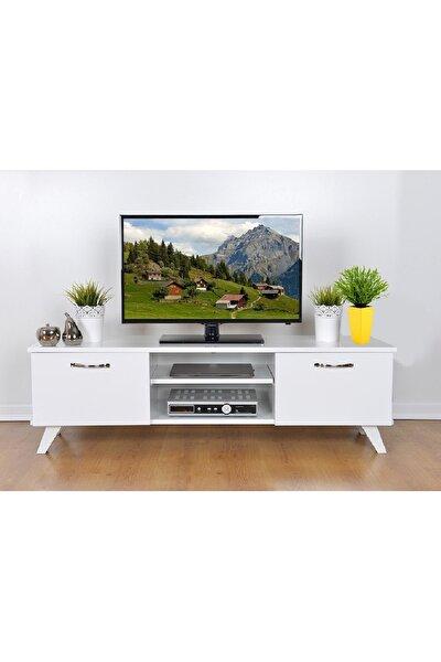 Tv Sehpası Beyaz