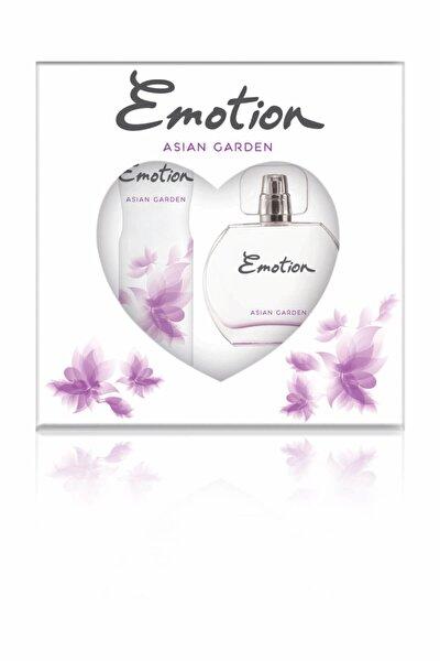 Asian garden Edt Deodorant Kadın Parfüm Seti 50 ml + 150 ml