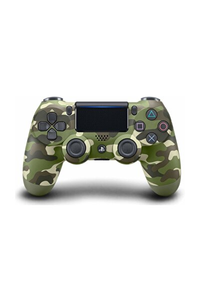 PS4 Dualshock Kablosuz Kumanda Green Camo - Yeşil Kamuflaj V2 (İthalatçı Garantili)