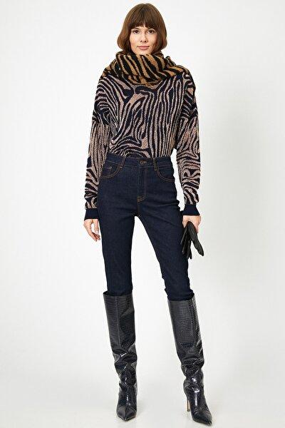 Kadın Dark Indigo Pantolon 0KAK47225DD