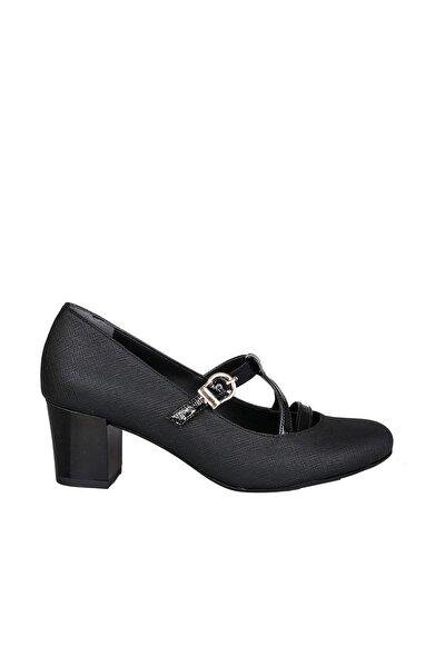 Siyah Kadın  Klasik Ayakkabı 19K42311003-02