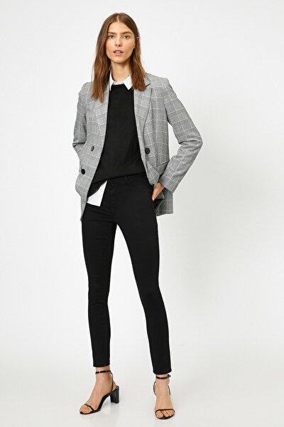 Kadın Siyah Pantolon 0KAK43222MW