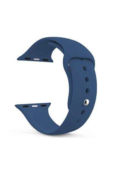 Watch Series 4 44mm Silikon Kordon Lacivert