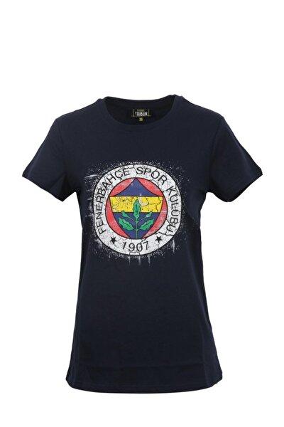 Kadın Tribün Renkli Logo Tshirt