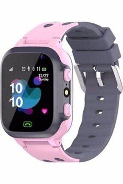 Q500s/2021 Akıllı Çocuk Takip Saati Pembe Ekran Koruyucu HEDİYELİ