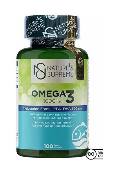 Omega 3 1000 Mg 100 Kapsül