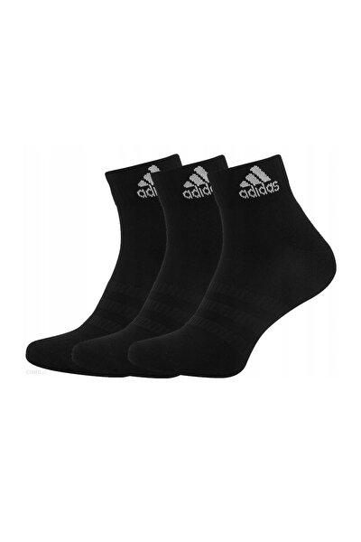 Siyah Çocuk Yastıklamalı 3'lü Çorap