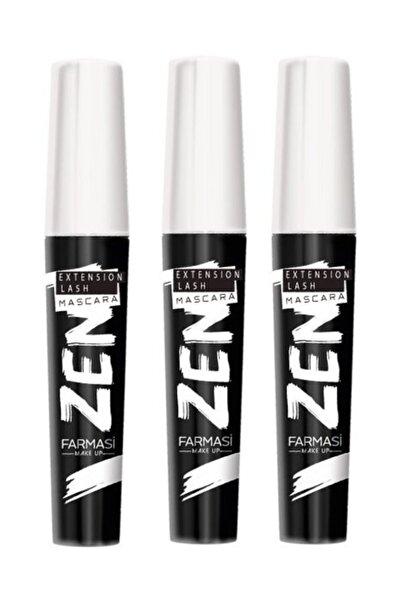 3 Adet Zen Maskara 8 ml