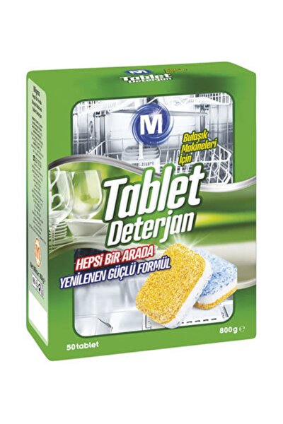 Migros Hepsi Bir Arada Bulaşık Makinesi 50 Tablet