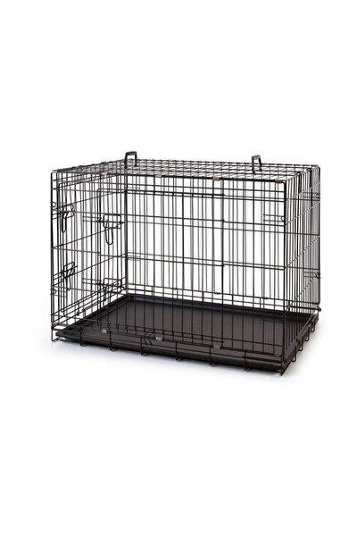 Kedi - Köpek Kafesi Siyah 120x77x90