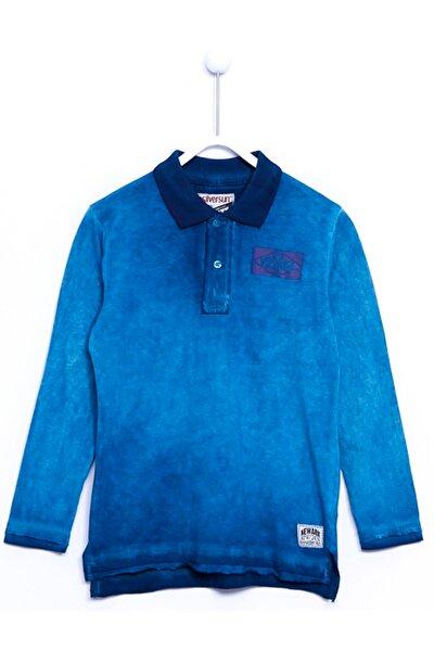 Erkek Çocuk Polo Yaka Sweatshirt