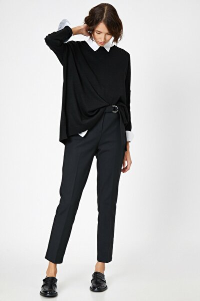 Kadın Siyah Pantolon 8KAP42390UW