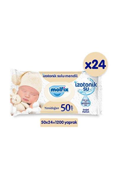 Yenidoğan Izotonik Islak Mendil 24lü Paket