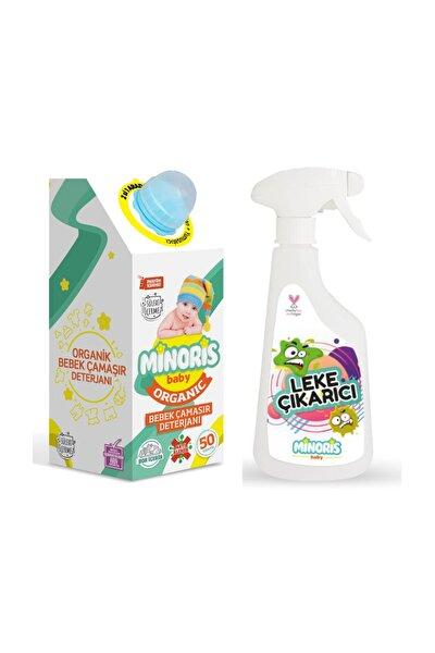Organik Bebek Çamaşır Deterjanı ve Leke Çıkarıcı Set
