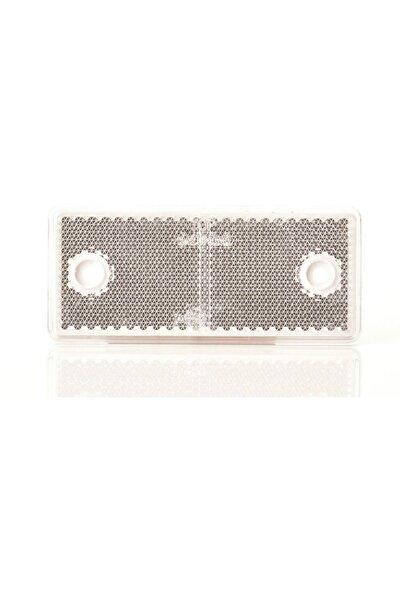 Kedi Gözü Reflektör 96x42 mm Beyaz