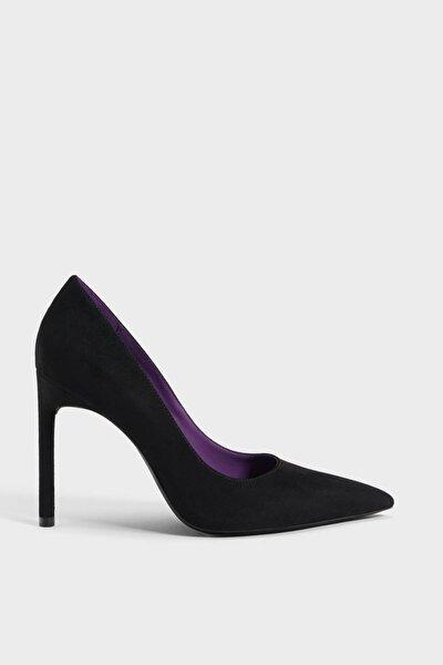 Kadın Siyah İnce Topuklu Ayakkabı 15510031