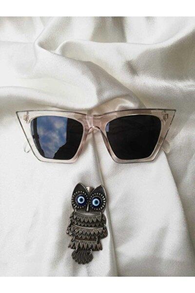 Kadın Şeffaf Güneş Gözlüğü