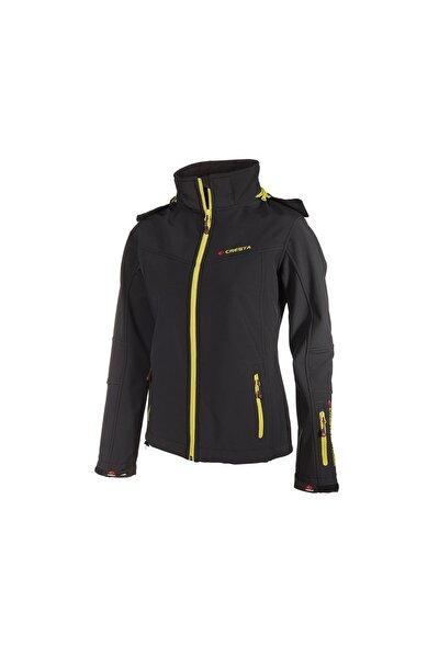 Outdoor Neon Baskılı Kadın Softshell Ceket