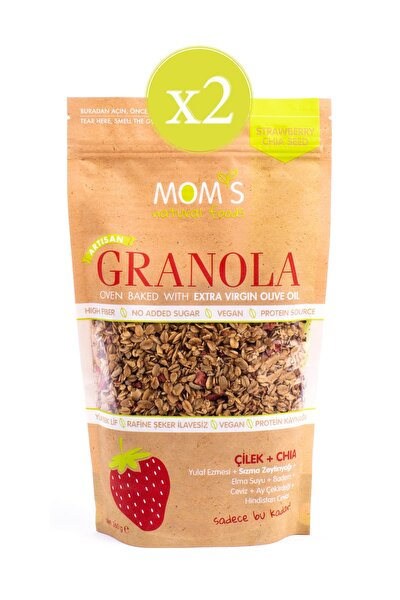 Chia Granola  360 gr - 2'li Çilek