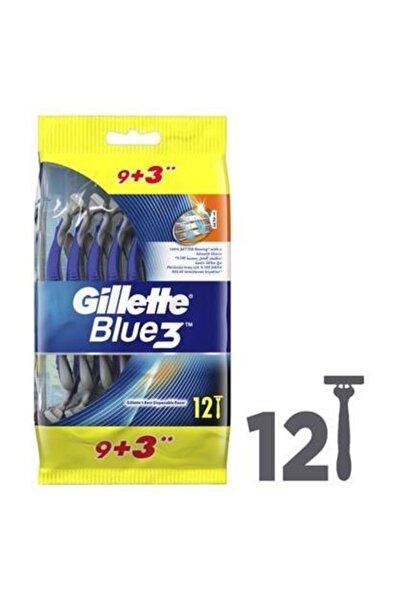 Blue 3 Bıçak 12'li Paket