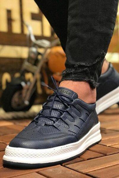 Lacivert Erkek Yürüyüş Ayakkabısı XRM040