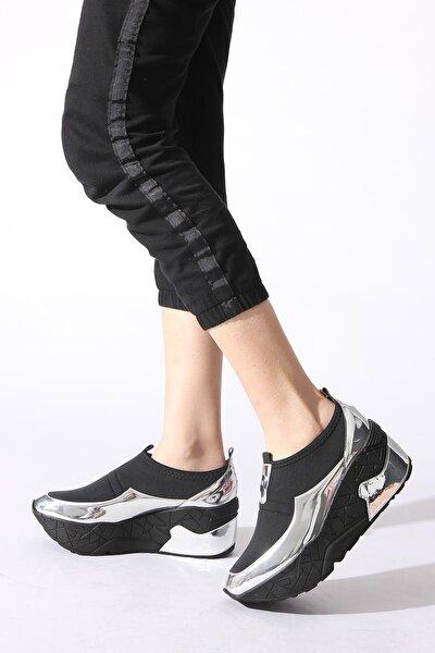 Gümüş Kadın Sneaker 218204-03