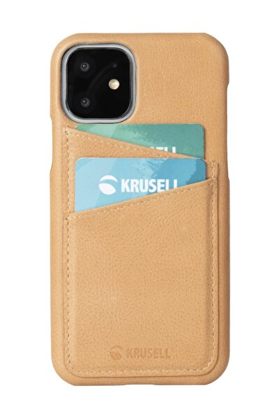 Kusell Deri Cardcover Apple Iphone 11 Pro Max Vintage Bej
