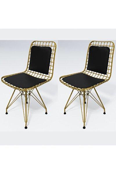 Knsz kafes tel sandalyesi 2 li mazlum altsyh sırt minderli ofis cafe bahçe mutfak