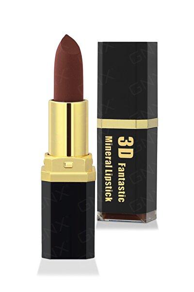 3D Mat Ruj - 3D Matte Lipstick No.35 Claret 8682442260895