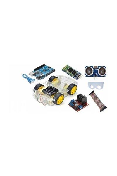 Auino Bluetooth Robot Araba Kiti - 4wd