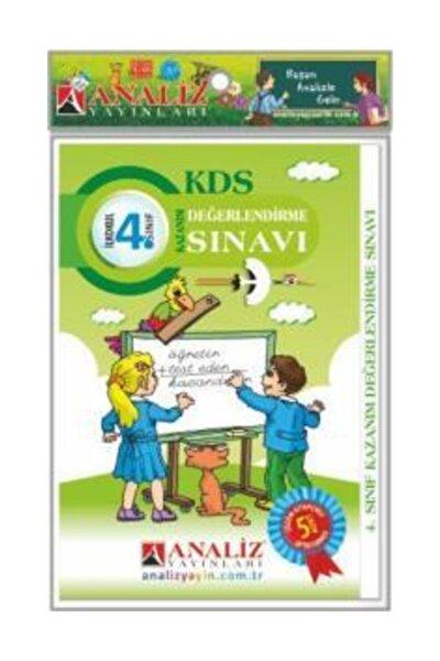 4. Sınıf Kazanım Değerlendirme Sınavı Kds 5 Adet Çözümlü