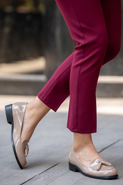 Vizon Kadın Oxford Ayakkabı 002056MI