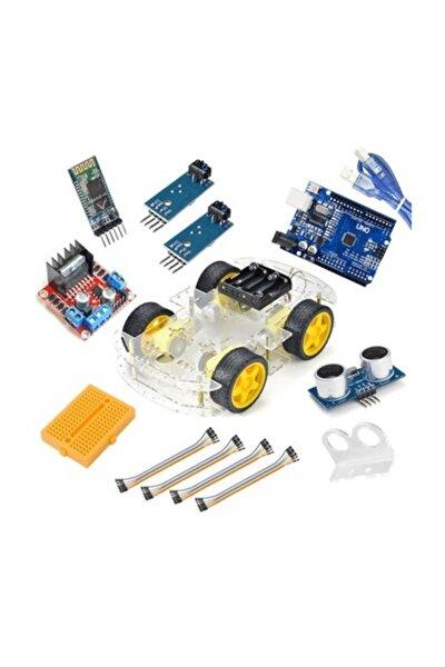 Bluetooth Robot Araba Kiti - 4wd
