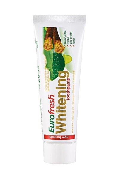 Eurofresh Whitening Aloe Veralı Misvaklı Diş Macunu 112g