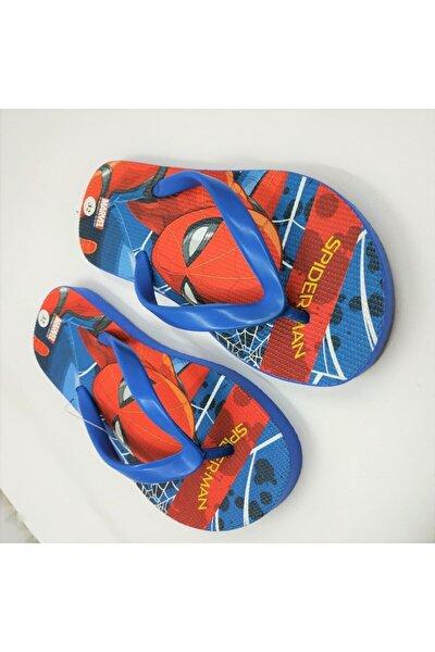Erkek Çocuk Mavi Spiderman Disney Lisanslı Parmak Arası Terlik
