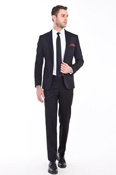 Erkek Slim Fit Takım Elbise