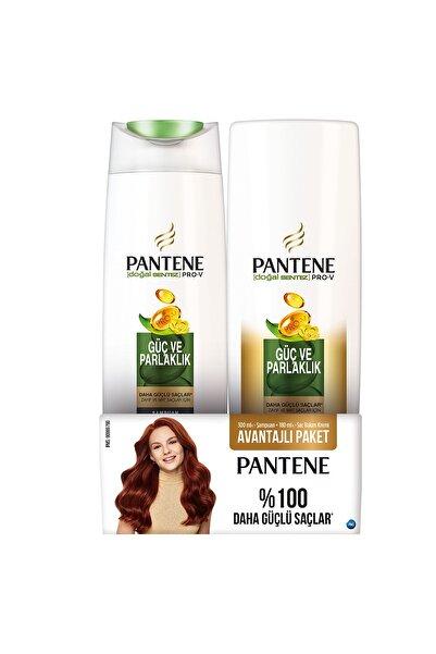 Güç Ve Parlaklık Şampuan 300 ml  + Saç Kremi 180 ml