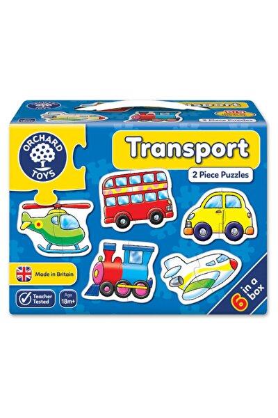 Toys Transport Puzzle Ulaşım Araçları Büyük Parçalı Yapboz 18 Ay+