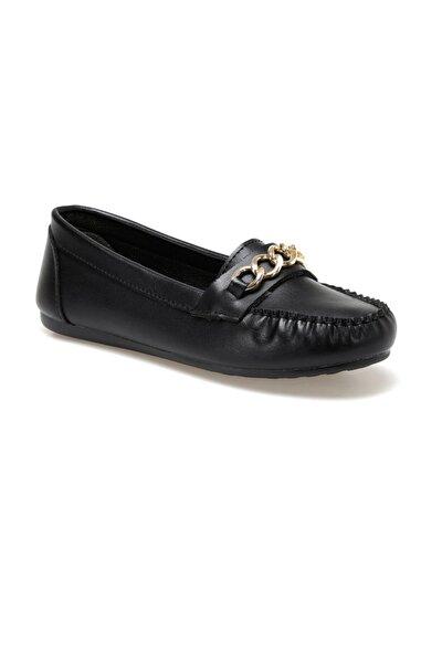 DS20052 Siyah Kadın Loafer Ayakkabı 100517613