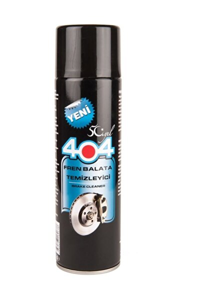 404 Balata Spreyi Fren Balata Genel Temizleme Sprey 500 ml 2 Adet