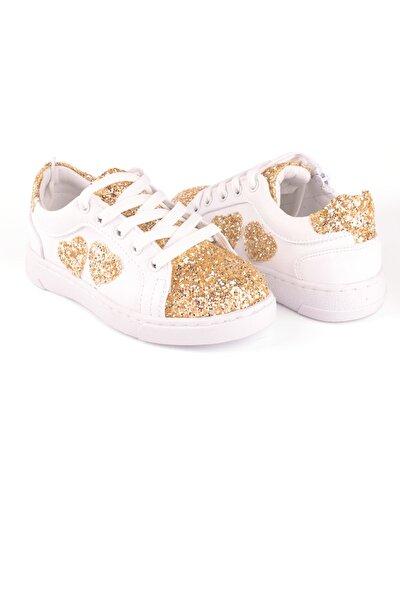 Deri Kalpli Kız Çocuk Ayakkabı